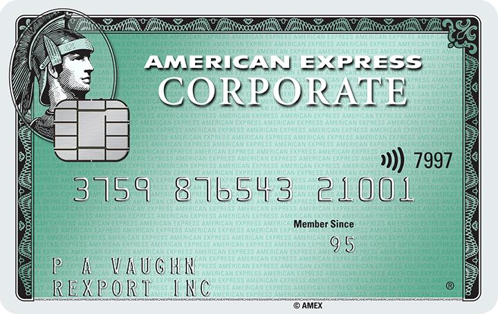 American Express<sup>®</sup> Corporate Card