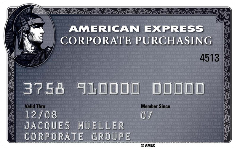 American Express<sup>®</sup> Corporate Purchasing Card