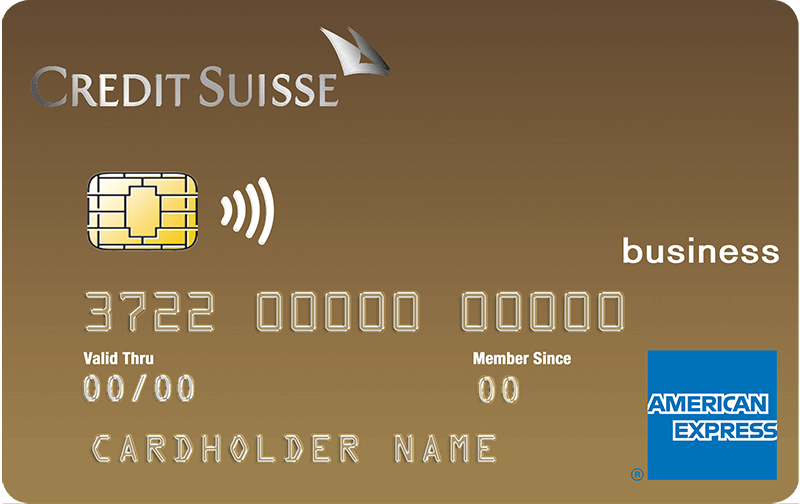 Credit Suisse Gold American Express<sup>®</sup> Business