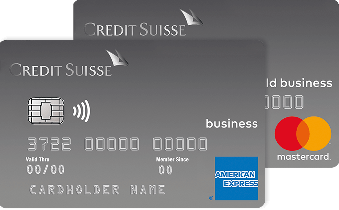 Credit Suisse Duo Silver card package
