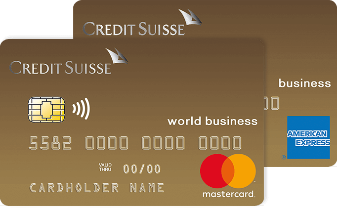 Pacchetto di carte Credit Suisse Duo Gold