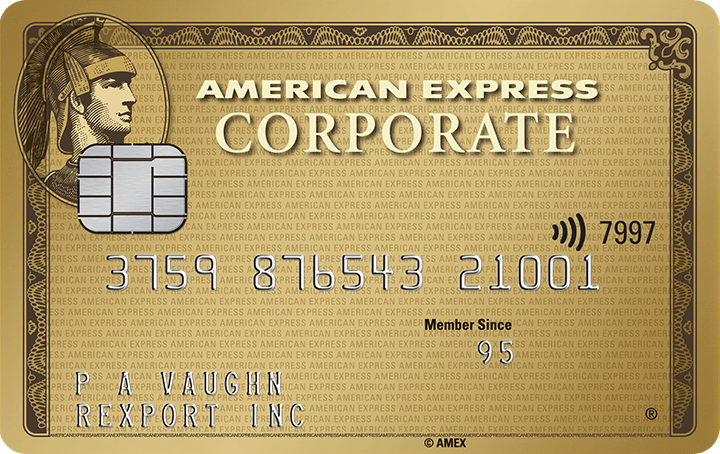 American Express<sup>®</sup> Corporate Gold Card