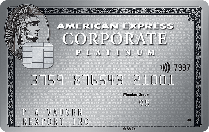 American Express<sup>®</sup> Corporate Platinum Card