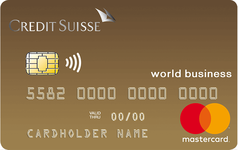 Mastercard<sup>®</sup> Business Gold (CS)